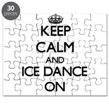 Keep calm and Ice Dance ON Puzzle