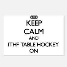 Keep calm and Ithf Table Postcards (Package of 8)
