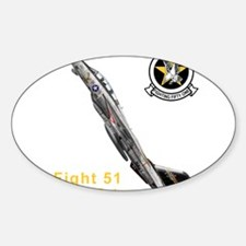 VF-51 Screaming Eagles Rectangle Decal