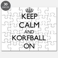 Keep calm and Korfball ON Puzzle