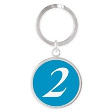 Number 2 Keychains