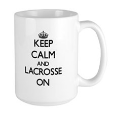 Keep calm and Lacrosse ON Mugs