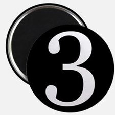 Number 3 Magnets