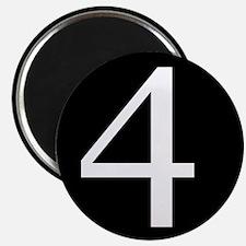 Number 4 Magnets