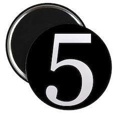 Number 5 Magnets