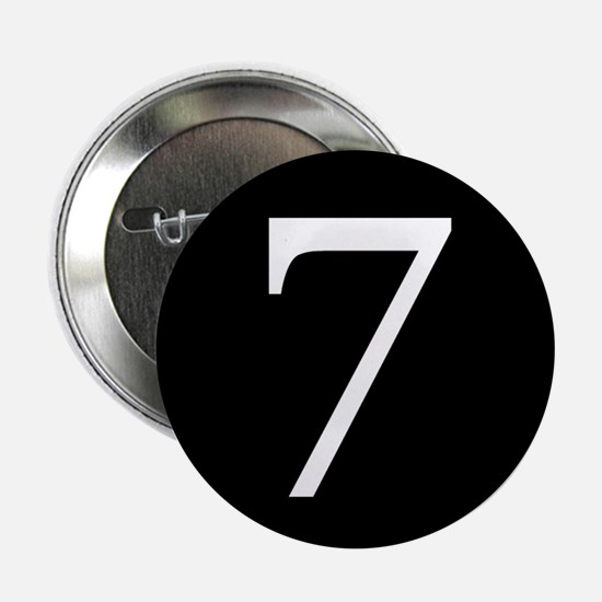 """Number 7 2.25"""" Button"""