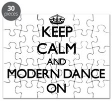 Keep calm and Modern Dance ON Puzzle