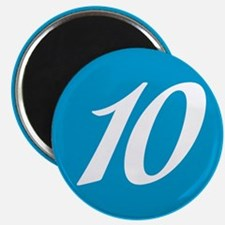 Number 10 Magnets