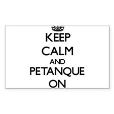 Keep calm and Petanque ON Decal