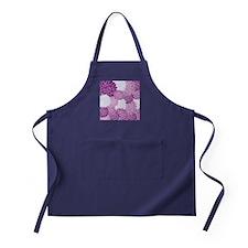 Purple Flowers Apron (dark)