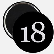 Number 18 Magnets