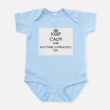 Keep calm and Rhythmic Gymnastics ON Body Suit