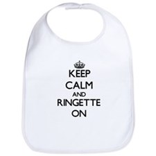 Keep calm and Ringette ON Bib