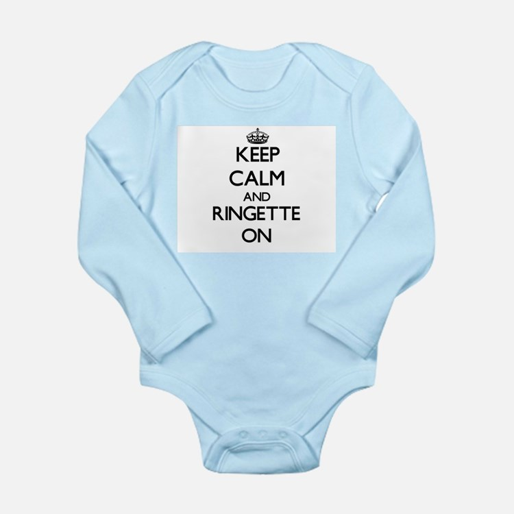 Keep calm and Ringette ON Body Suit