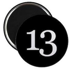 Number 13 Magnets