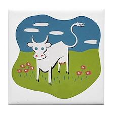 Moo Cow Tile Coaster