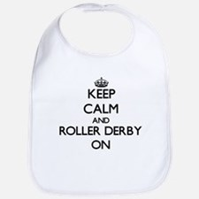 Keep calm and Roller Derby ON Bib