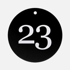 Number 23 Ornament (Round)