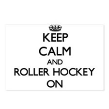 Keep calm and Roller Hock Postcards (Package of 8)