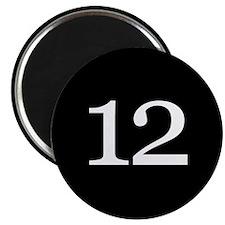 Number 12 Magnets