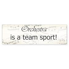 Orchestra Team Sport Bumper Car Sticker