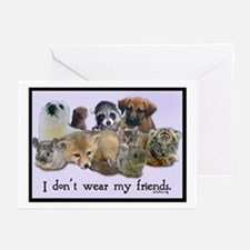 I Don't Wear My Friends Greeting Cards (Pk of 10)