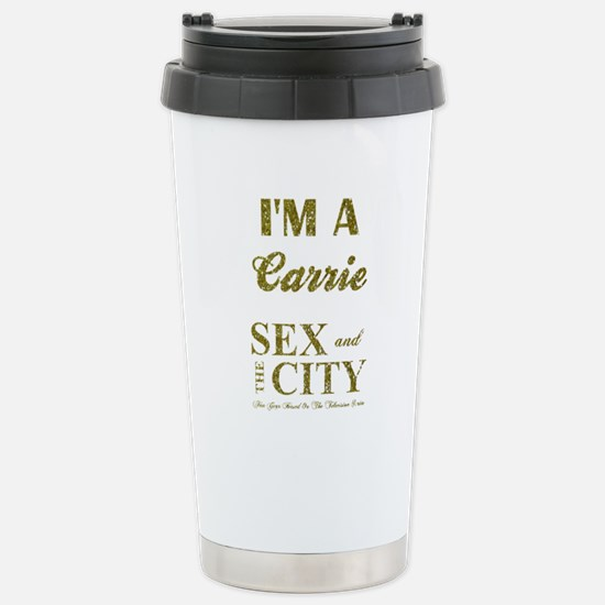 I'M A CARRIE Stainless Steel Travel Mug