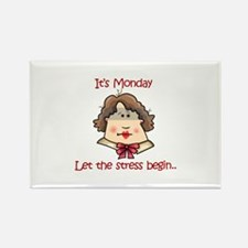 ITS MONDAY Magnets