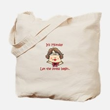 ITS MONDAY Tote Bag