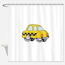 TAXI CAB Shower Curtain
