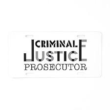 Prosecutor Aluminum License Plate