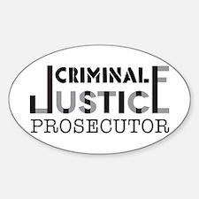 Prosecutor Decal