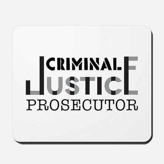 Prosecutor Mousepad