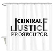 Prosecutor Shower Curtain