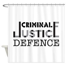 Defence Shower Curtain