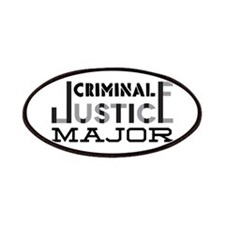 Criminal Justice Major Patches