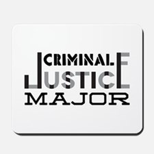 Criminal Justice Major Mousepad
