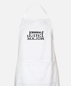 Criminal Justice Major Apron