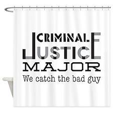 Bad Guy Shower Curtain