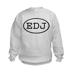EDJ Oval Sweatshirt