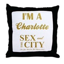 I'M A CHARLOTTE Throw Pillow