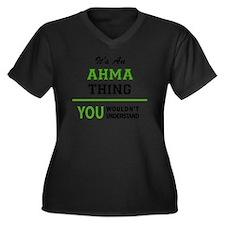 Unique You wouldnt understand Women's Plus Size V-Neck Dark T-Shirt