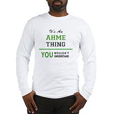 Funny Ahmed Long Sleeve T-Shirt