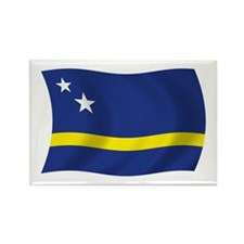 Curacao Flag Rectangle Magnet (100 pack)
