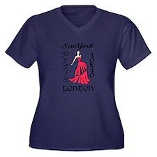 RUNWAY FASHION MODEL Plus Size T-Shirt