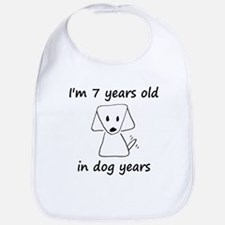 1 dog years 6 Bib