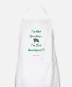 I'm Not Speeding... BBQ Apron