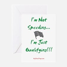 I'm Not Speeding... Greeting Cards (Pk of 10)