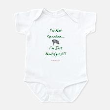 I'm Not Speeding... Infant Bodysuit