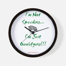I'm Not Speeding... Wall Clock